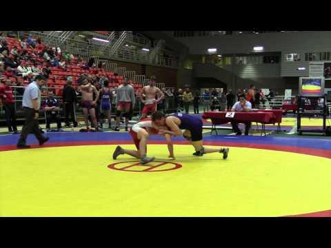 2014 Junior National Championships: 74 kg Bronze Tyler Rowe vs. Brayden Ambo