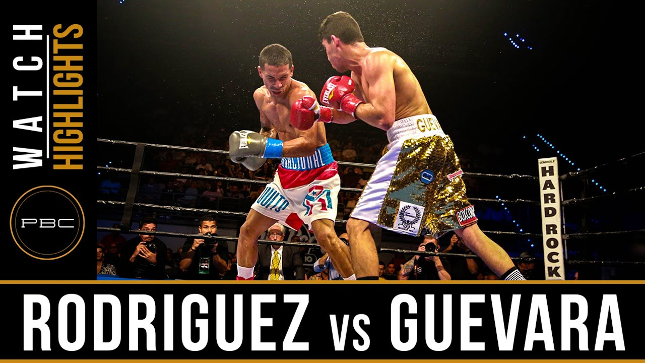 Rodriguez vs Guevara HIGHLIGHTS: June 3, 2016 - PBC on Spike