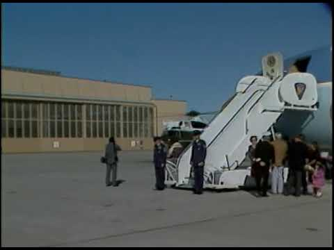 President Reagan's Radio Address and Departure from Point Mugu on November 26, 1983
