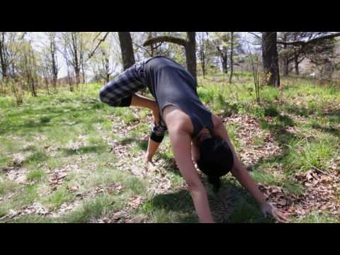 yoga moves tree plank builds upper body strength  youtube