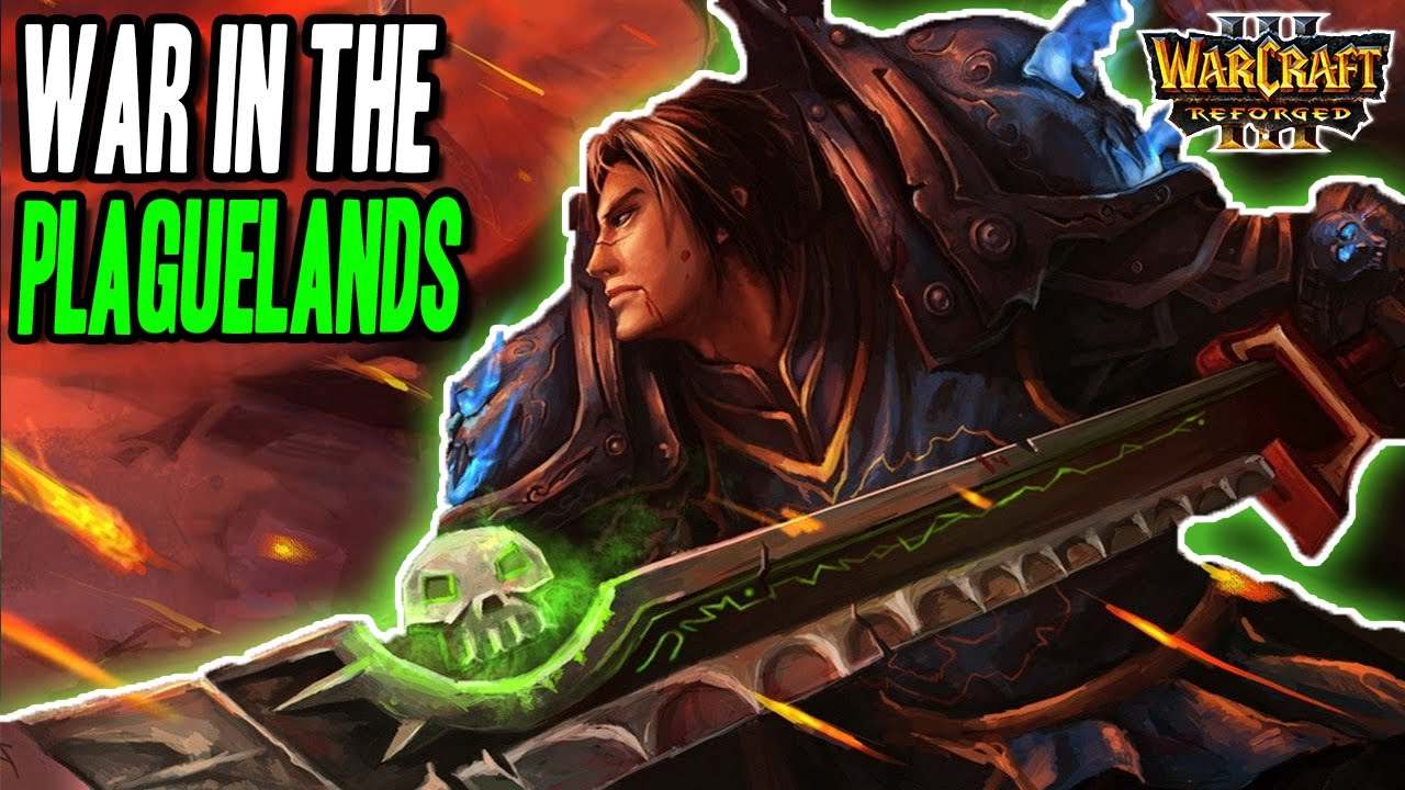 NEW Death Knight Wing, War in the Plaguelands Reborn | Warcraft 3 Reforged
