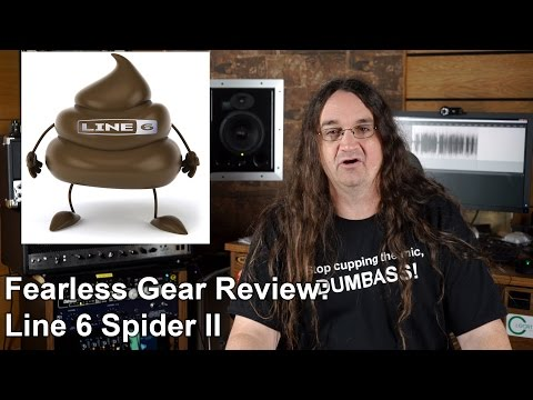 Fearless Gear Reviews: Line 6 Spider II | SpectreSoundStudios