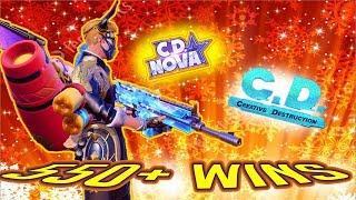 Ex-Fortnite Pro // (#1 CD Content Creator) 550+ Wins // 350+ Solo Wins / 100K Tournament! / !discord
