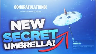 How to get the *NEW* SNOWFALL UMBRELLA in Fortnite Season 7! #HypeZxire @TheFreshestMac