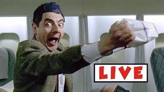Mr Bean live stream on Youtube.com