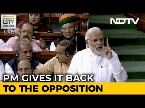 PM Modi's Point-By-Point Rebuttal To Rahul Gandhi's Speech In Parliament