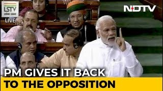 PM Modis Point-By-Point Rebuttal To Rahul Gandhis Speech In Parliament