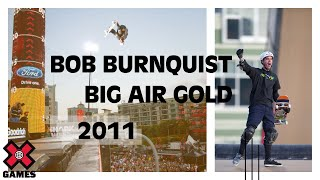Bob Burnquist takes Gold in Skateboard Big Air - ESPN X Games