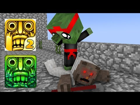 download Monster School : GRANNY VS BABY MONSTER TEMPLE RUN CHALLENGE - Minecraft Animation