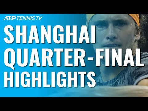 Tsitsipas And Zverev Stun Djokovic And Federer In Epics! | Shanghai 2019 Quarter-Final Highlights