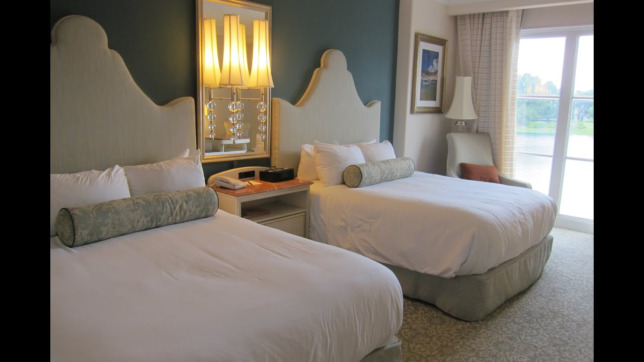 Universal Studios Portofino Bay Hotel Room Tour   YouTube