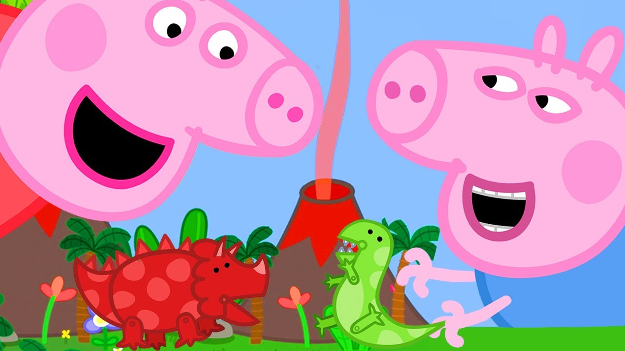 Peppa Pig Official Channel | Giant Peppa Pig at the Tiny Land