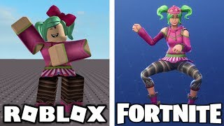 Fortnite Dances In Roblox 2!