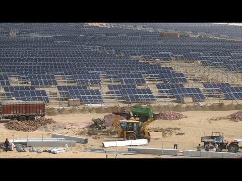 L'Inde joue la carte du solaire avant la conférence du climat