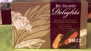 Big Island Delights Macadamia Shortbread Cookies From Hawaii Review