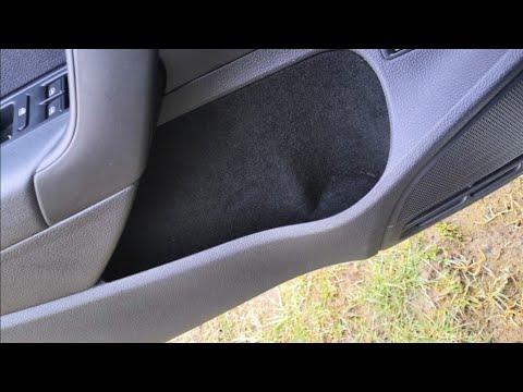 Карпет в ниши дверей Vw Polo седан