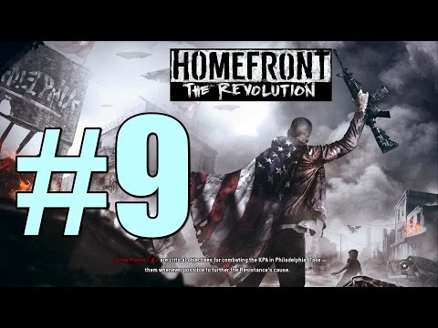 Homefront the Revolution Walkthrough Part 9 l Inside Job l Steal a Goliath from the Shipyard