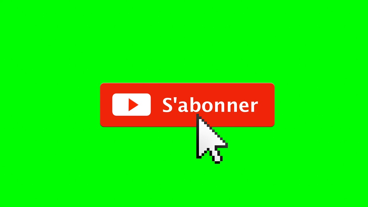 [FOND VERT ] BOUTON S'ABONNER GRATUIT / SUBSCRIBE GREEN ...
