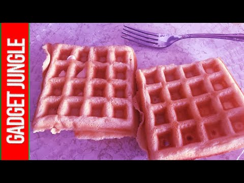 Best Waffle Iron 2020 - Cuisinart WAF-300 Review