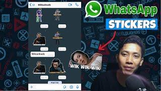Download lagu Cara Buat Stiker Whatsapp Dengan Foto Kita Sendiri Pakai Aplikasi Gratis di Android