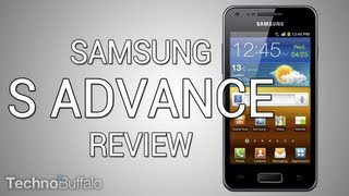 [Análisis] Samsung Galaxy S Advance (en español)