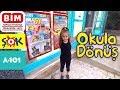 Okula Dönüş BİM , A101 , ŞOK , Okul Alışverişi | BACK TO SCHOOL