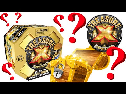 Treasure X Mystery Toy Excavation Kit!