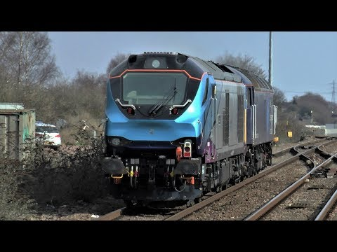 End Of February Freight At Severn Tunnel Junction - 2018