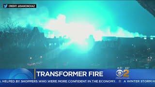 Transformer Explosion Lights Up Sky, Social Media