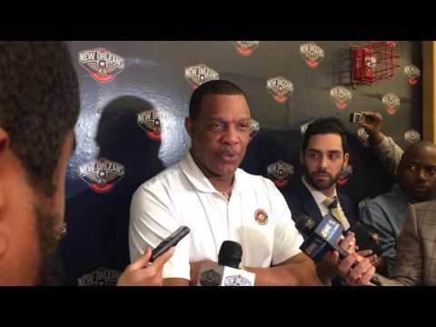Pelicans coach Alvin Gentry says team's ticket salesmen are happy
