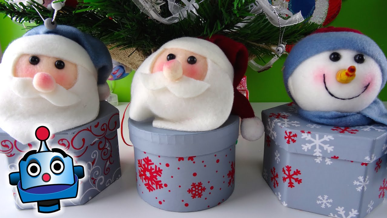3 little christmas boxes with a surprise youtube - Sorpresas para navidad ...
