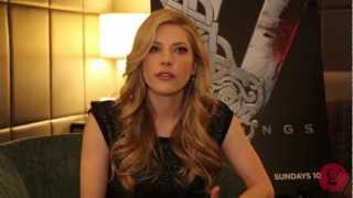 Katheryn Winnick interview for History