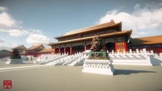 【Minecraft】Incredible wonder- The forbidden city of China(Trailer)