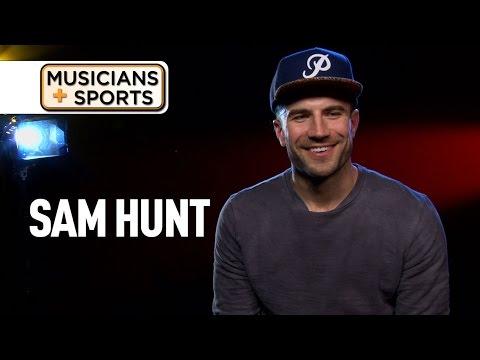 Musicians + Sports: Sam Hunt