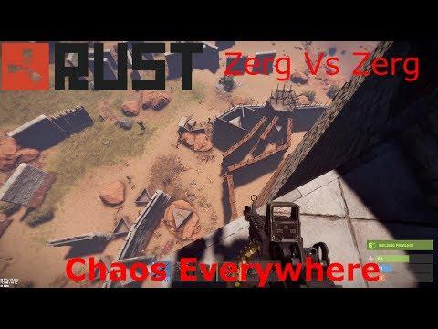 Rust Clan Wars - Biggest Raid Defence I Have Been Apart Of!!!! (Vanilla Raid)