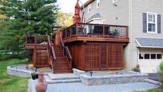 Best & Cool Elevated Backyard Design Ideas For Beautiful Home, Best Deck Skirting Design Ideas #3
