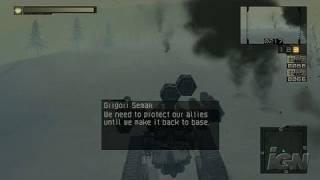 Chromehounds Xbox 360 Gameplay - Missile Rain