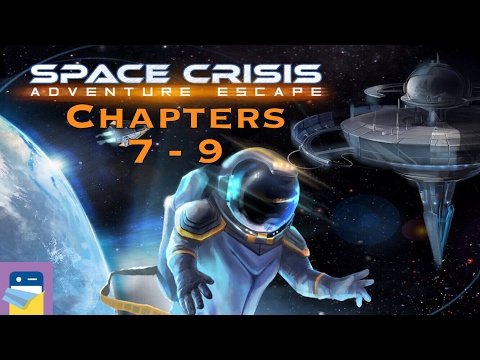 Adventure Escape Space Crisis: Chapters 7, 8, 9 Walkthrough & iOS iPad Air 2 Gameplay (Haiku Games)