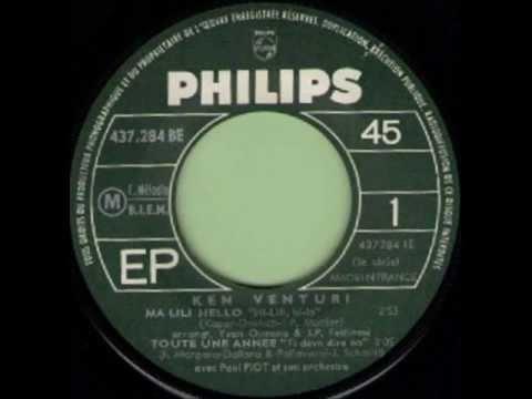 KEN VENTURI - COMME UN HOMME (Come On Home) - EP PHILIPS 437 284 BE