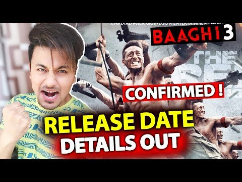 Baaghi 3 Big Announcement | Release Date Confirmed | Tiger Shroff