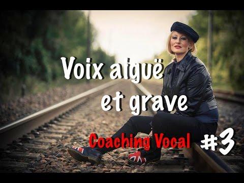 Coaching vocal débutant cours 3 :  trouver sa voix aiguë et grave