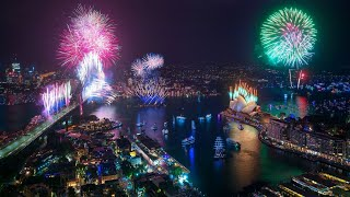 Sydney New Year's Eve 2019 - Midnight Fireworks