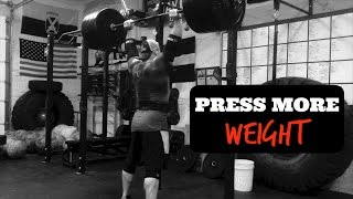 HOW TO OVERHEAD PRESS (Technique Tips Ft. Brian Alsruhe)