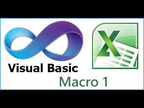 Macro in Excel | Video 1: Istruzioni per inserire testo, attivare celle, cambiare formato