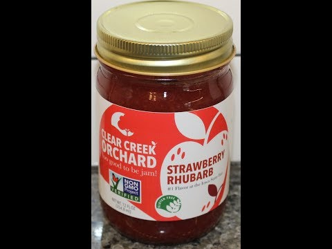 Clear Creek Orchard Strawberry Rhubarb Review