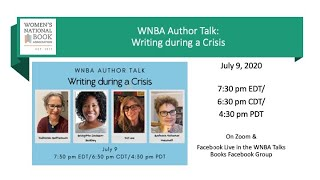 WNBA Author Talk: Writing during a Crisis