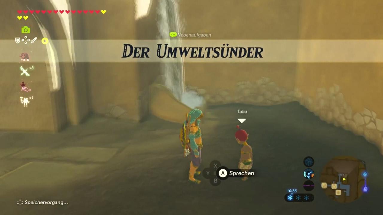 Der Umweltsünder Zelda