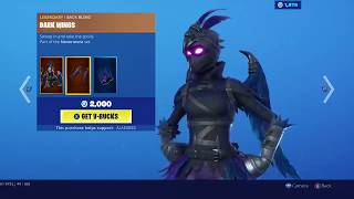 NEVERMORE & DINOSAUR SKINS RETURN! (Fortnite Item Shop)