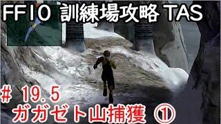 (コメ付き)【TAS】FF10 WIP 【ガガゼト山捕獲 その1】