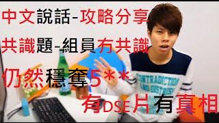 中文DSE---共識題無共識-照奪5**皇牌 + 新型題種破解 (2) [能力高者建議用1.25倍播]